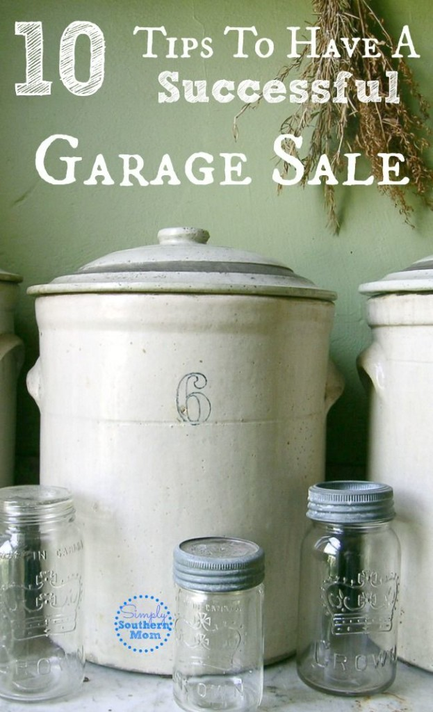 10 Tips To Have a Successful Garage Sale