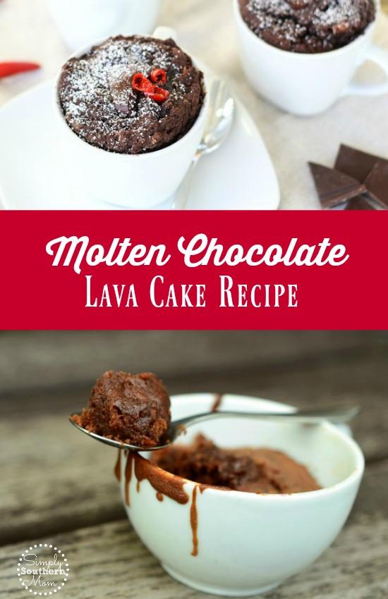 Molten Chocolate Lava Cake Recipe