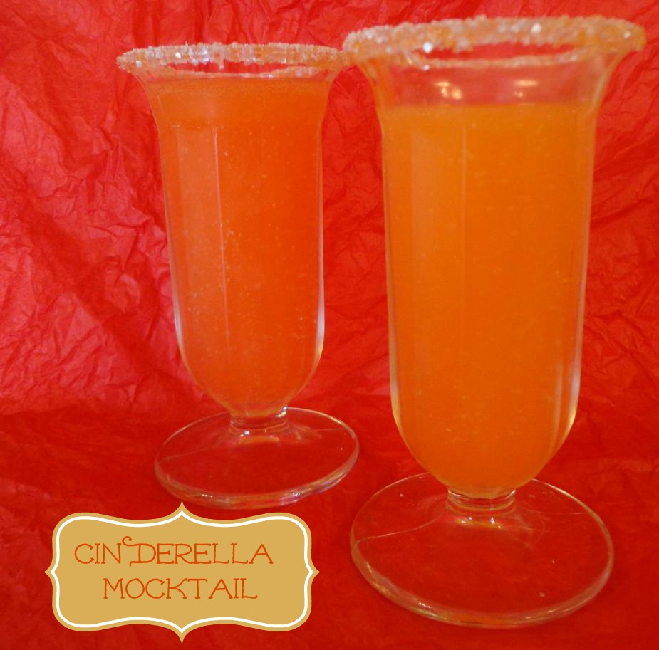 Cinderella Mocktail #recipe