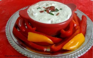 Bacon Blue Cheese Dip Recipe