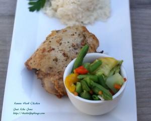 Lemon Herb Chicken Recipe–Gluten Free