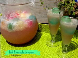 Pink Pineapple Lemonade Recipe