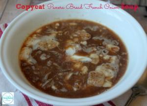 Panera Bread French Onion Soup CopyCat Recipe