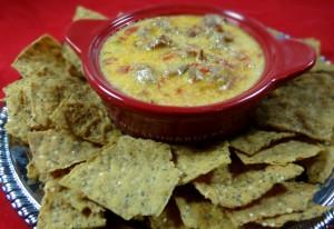 Crockpot Sausage Cheese Dip #glutenfree  #recipe