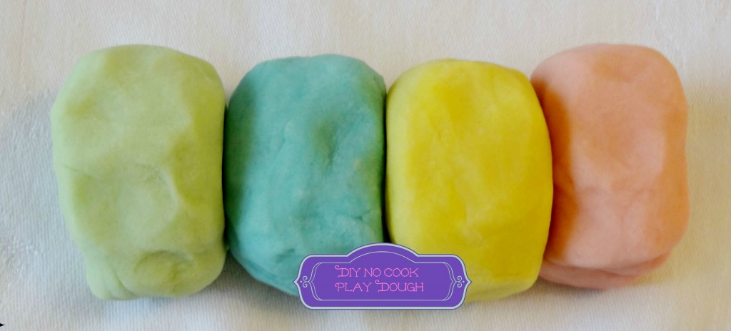 DIY No Cook  playdough