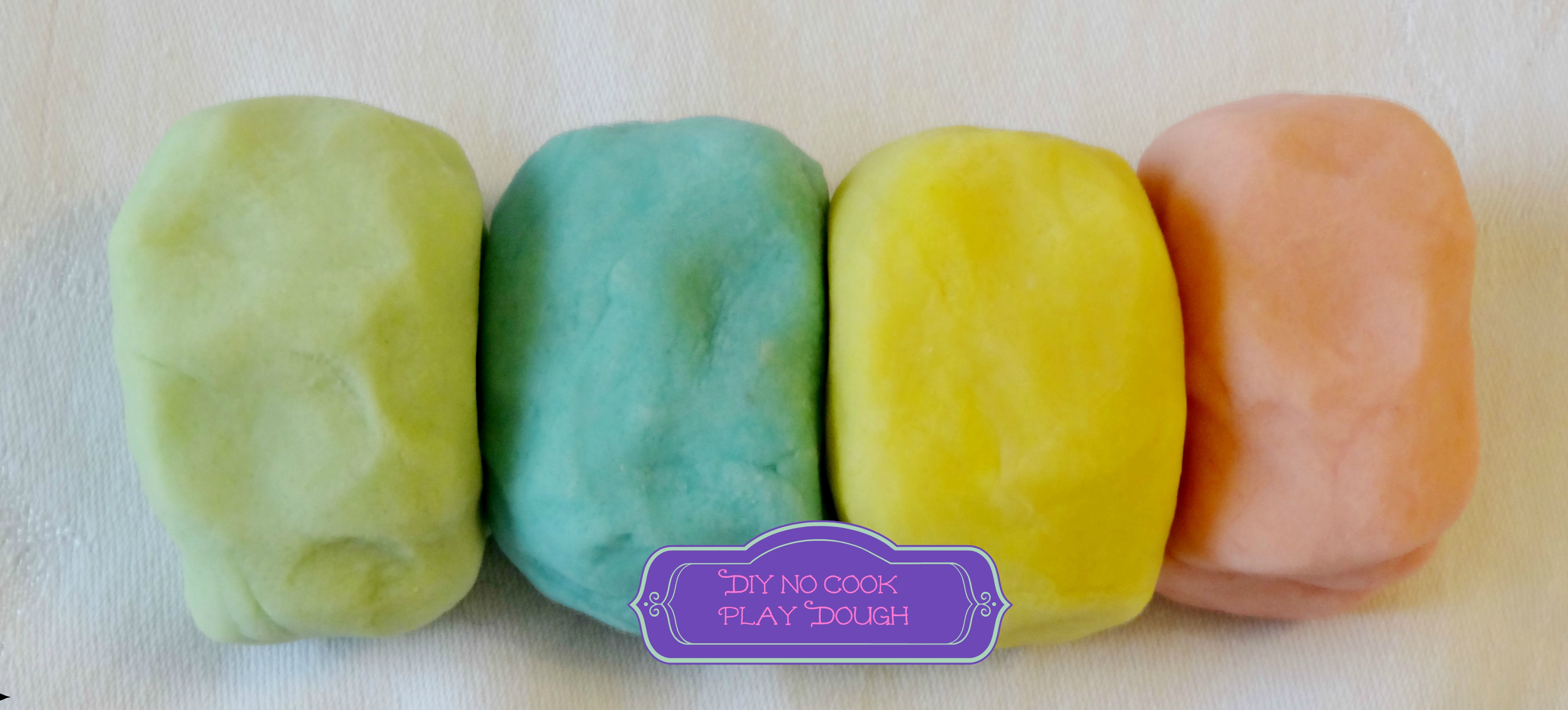 how to make simple playdough