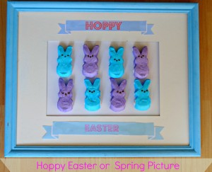 How to Make A Hoppy Easter Picture ideas with #peepsonality