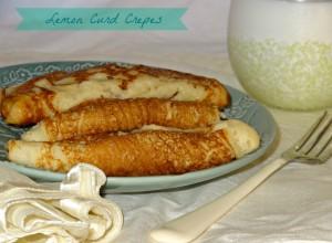 Gluten Free Yogurt Crepes recipe #naturalprobiotics