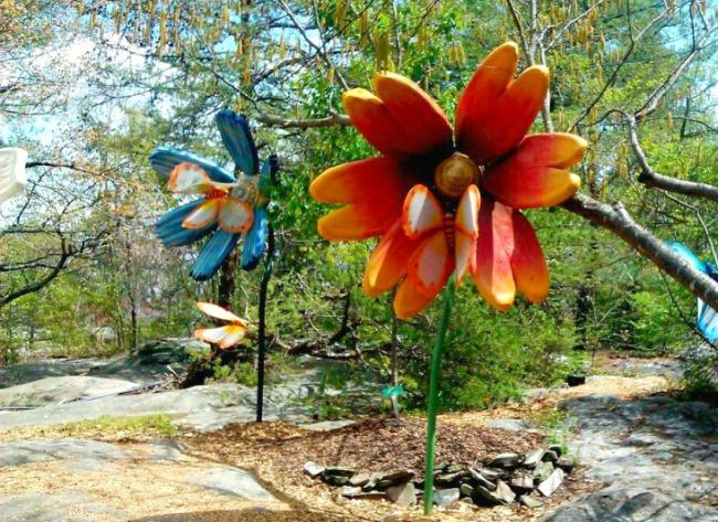 sculpture rock city gardens