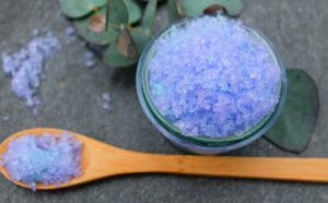 Easy DIY Soothing Sinus Salt Scrub Recipe