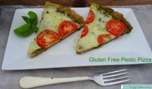 Gluten Free Pesto Pizza Recipe
