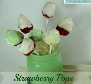 Simple Strawberry Pops Recipe #StreamTeam