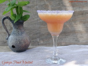 Georgia Peach Mocktail Recipe