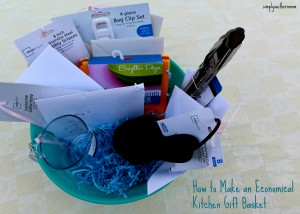 How to Make an Economical Kitchen Gift Basket