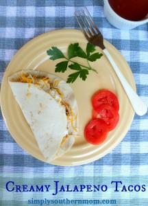 Creamy Jalapeno Taco Recipe, DIY Taco Bar