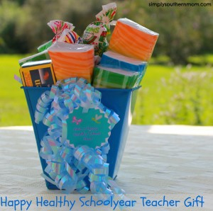 Back to School Teacher Gift Basket Craft