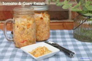 Tomato Corn Relish Recipe