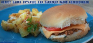 Barbeque Bacon Burger & Ranch Potatoes Recipes:
