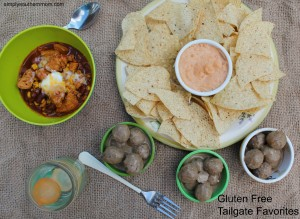 Don't miss a Tailgate Party with these Tempting Gluten Free Goodies
