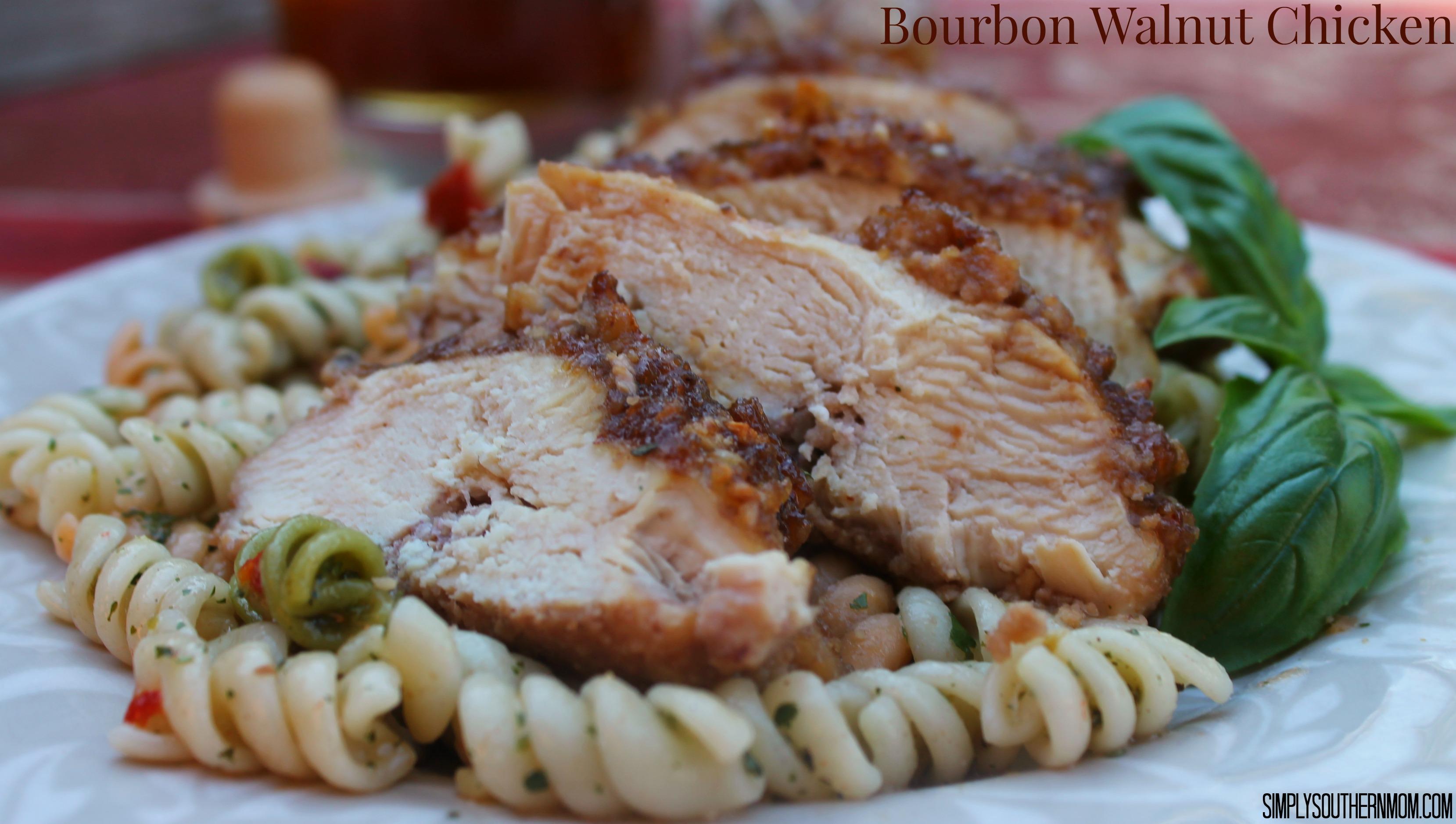Bourbon Pecan Chicken Recipes — Dishmaps