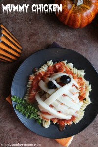 Mummy Chicken -Easy Gluten Free Halloween Recipe