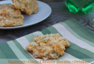 Gluten Free Rosemary Garlic Cheddar Biscuits