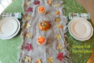 How To Make A Simple Thanksgiving Centerpiece