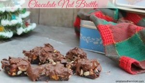 Chocolate Nut Brittle Recipe