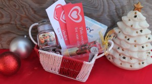 Holiday Romance Gift Basket Idea