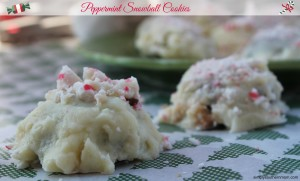 Peppermint Snowballs Cookie Recipe