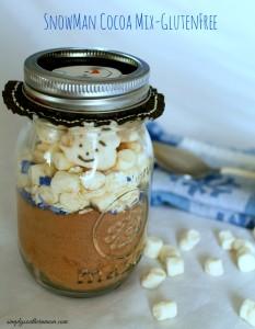 Snowman Cocoa Mix Recipe – Gluten Free!