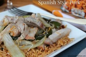 Spanish Style Pork & Rice Recipe