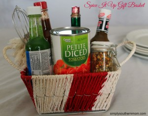 Spice It Up DIY Valentine's Day Gift Basket
