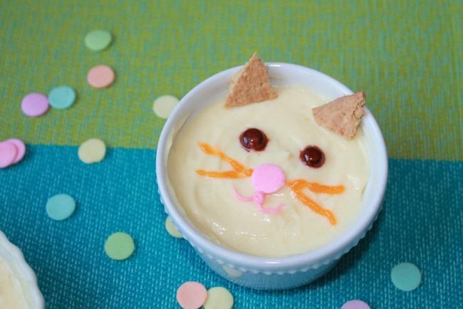 cat pudding snack