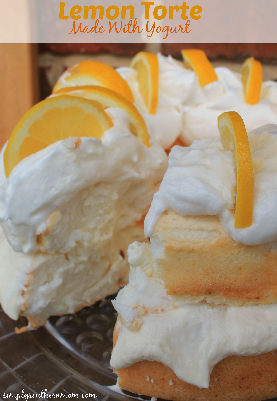 Easy Lemon Torte Recipe Simply Southern Mom
