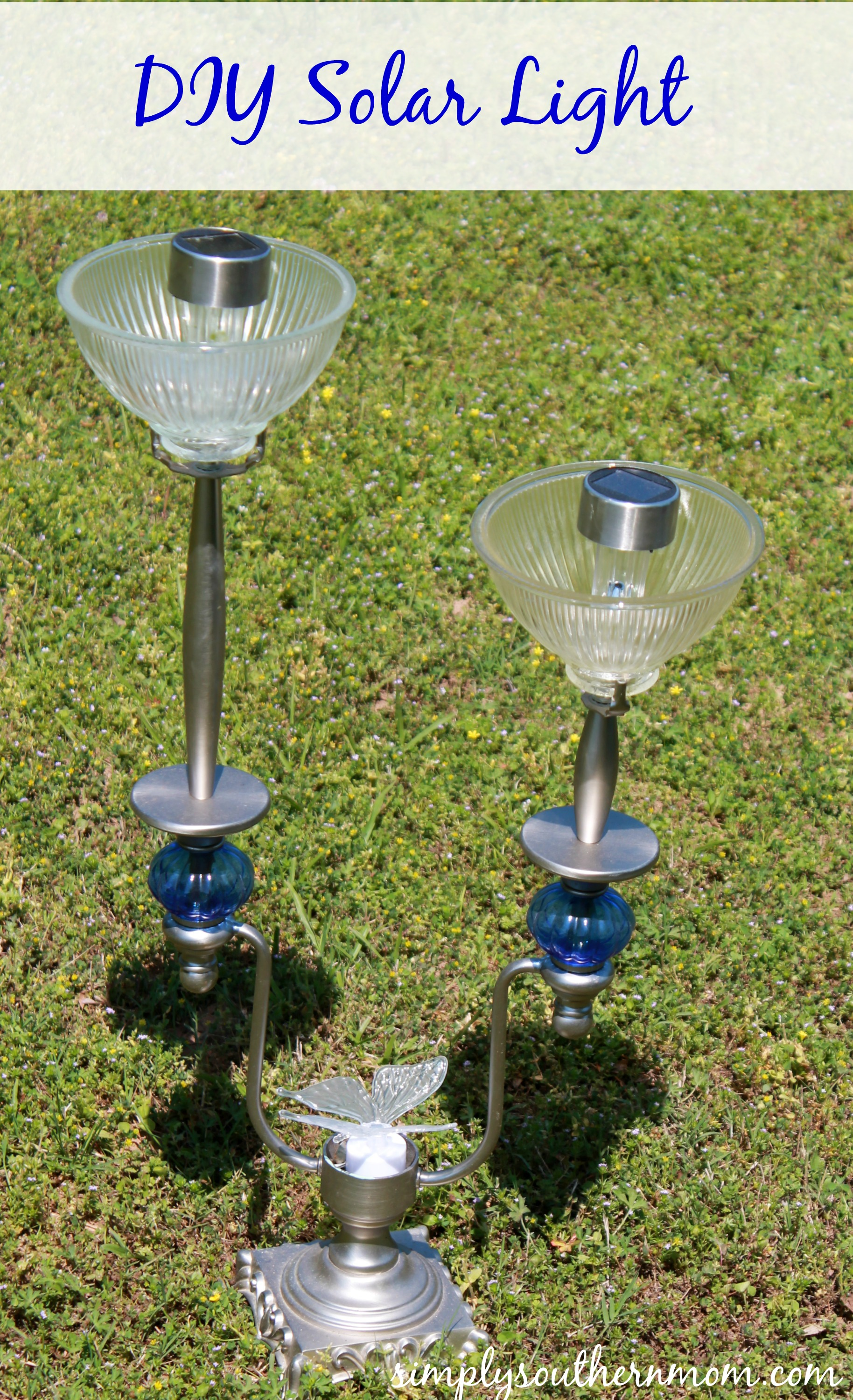 DIY Solar Lamp (Made with an Old Lampstand) - Simply ...