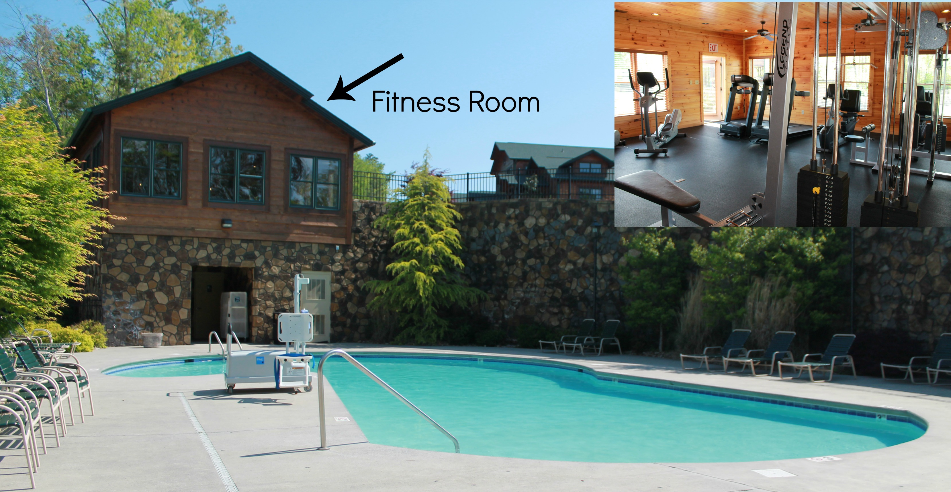A cabin with style gatlinburg falls resort simply - Gatlinburg falls resort swimming pool ...
