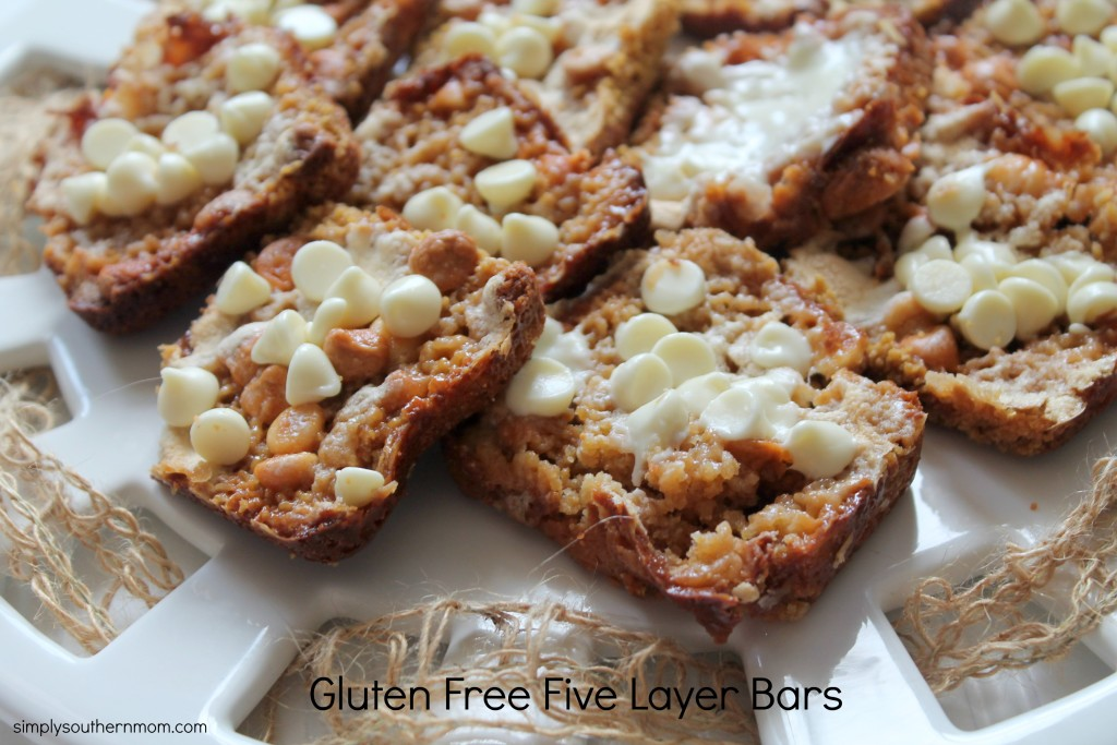 ... top layer of the gluten free seven layer bars gluten free 7 layer bars