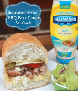 Southern Style Barbeque Pork Cuban Sandwich Recipe