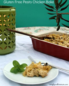 Gluten Free Pesto Chicken Bake Recipe