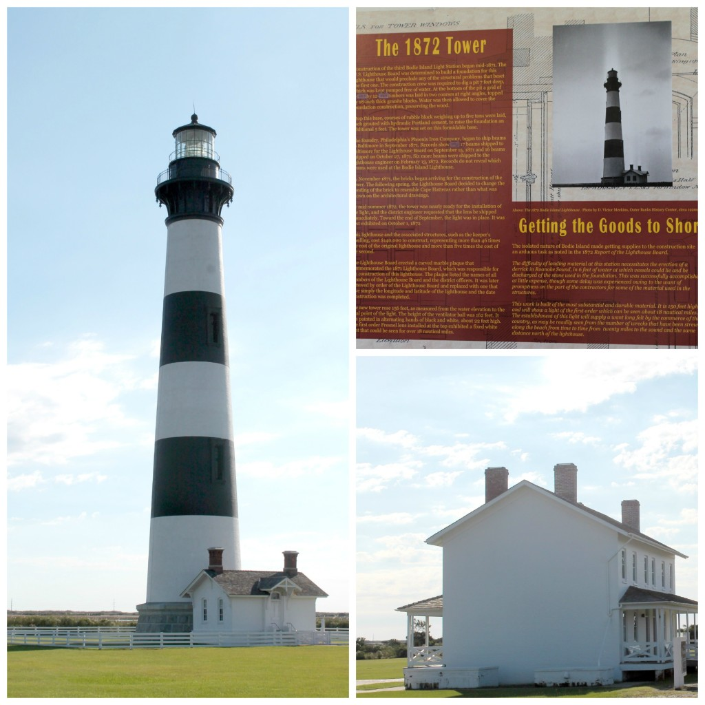 Bodie Island Collage