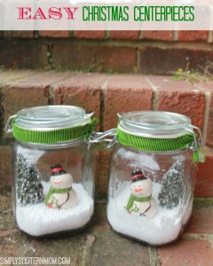 How To Make Easy Snowman Christmas Table Centerpieces