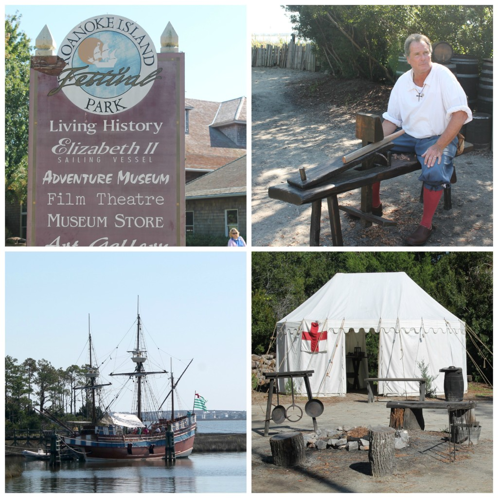 Roanoke Island Collage