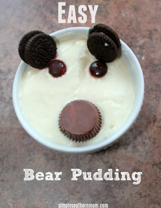 Animal-Themed-Snack-Bear Pudding