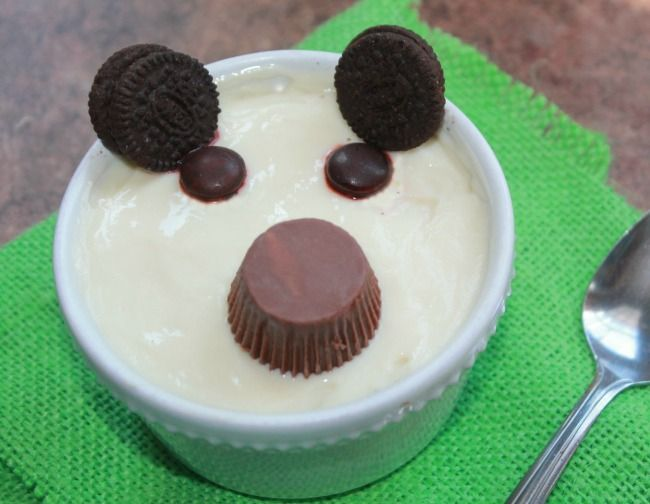 Bear-Snack-made-from-pudding-compressor