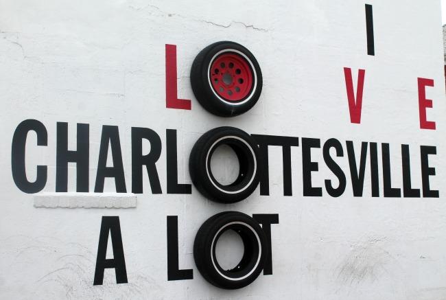 Charlottesville Tire Mural