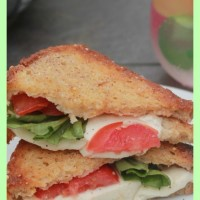 Do you love Caprese Salad? Are you in need of the comfort of a grilled cheese sandwich? This Caprese Salad Gourmet Grilled Cheese tastes delicious, is gluten free and sure to satisfy all your cravings!