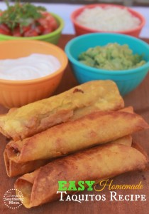 Homemade Taquito Recipe