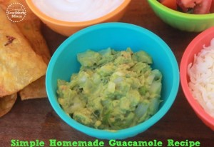 The Best Easy Homemade Guacamole Recipe