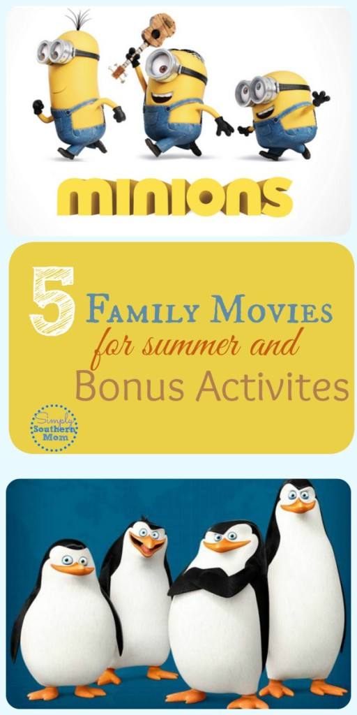 5 Best Family Movies for Family Movie Night